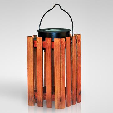 lampu lentera kayu surya